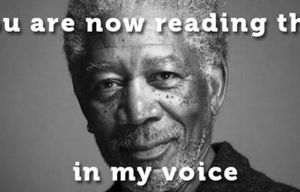Wat de marketingwereld kan leren van Morgan Freeman
